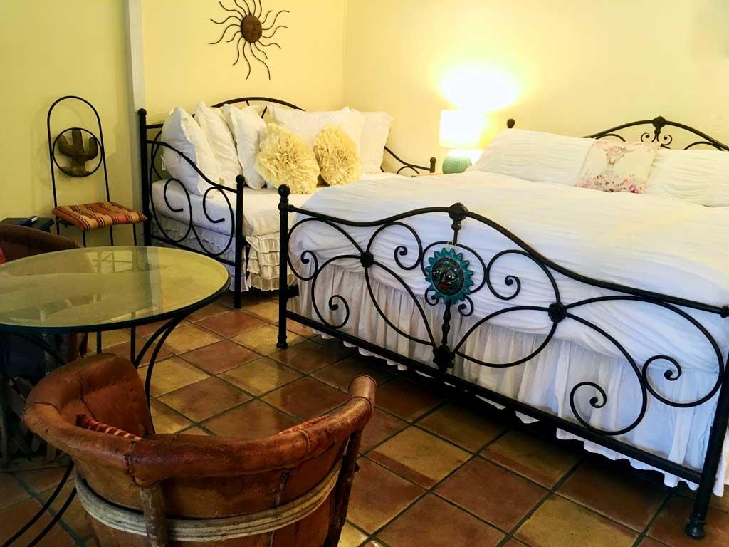 Golden Cottage Bed and Breakfast bedroom.